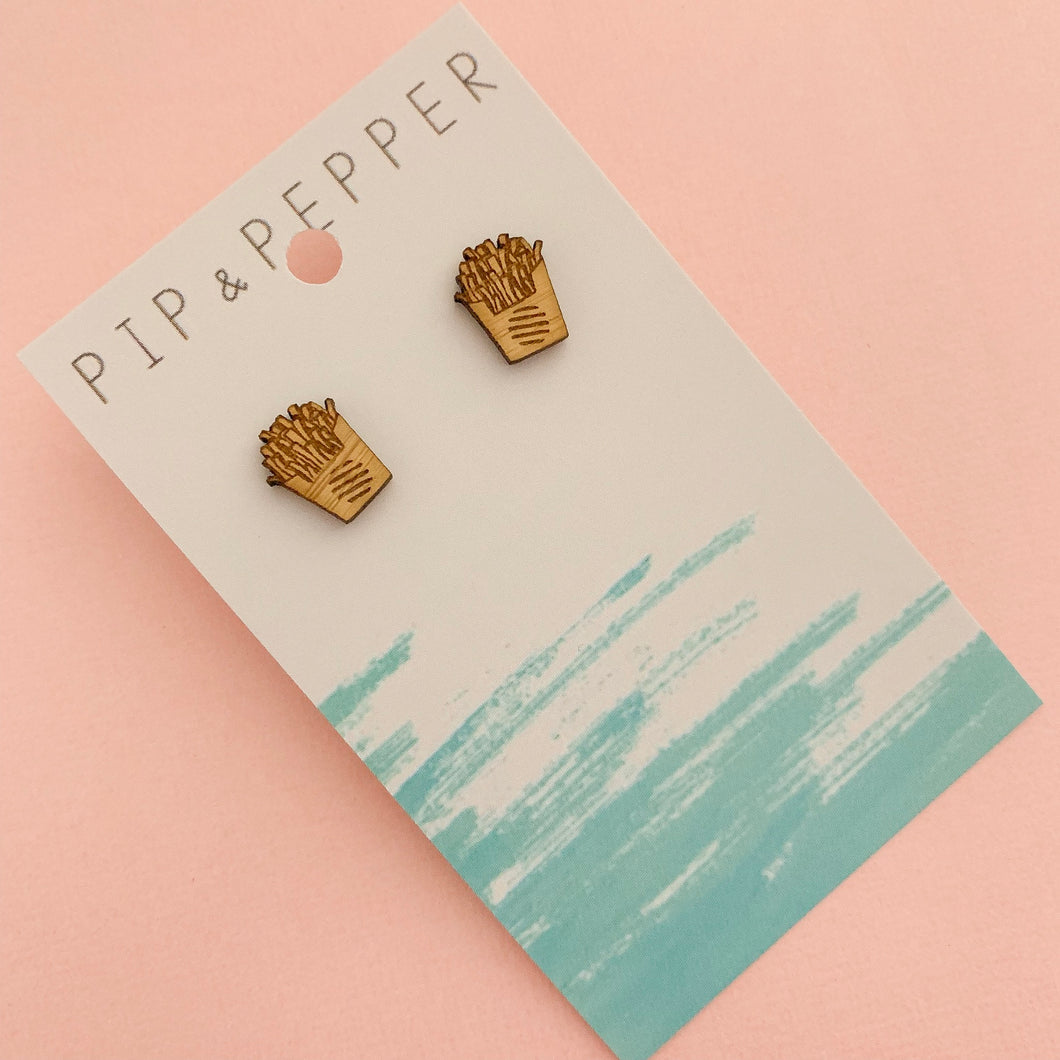 Bamboo Fries Studs
