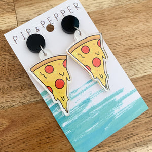 Printed Pizza Dangles