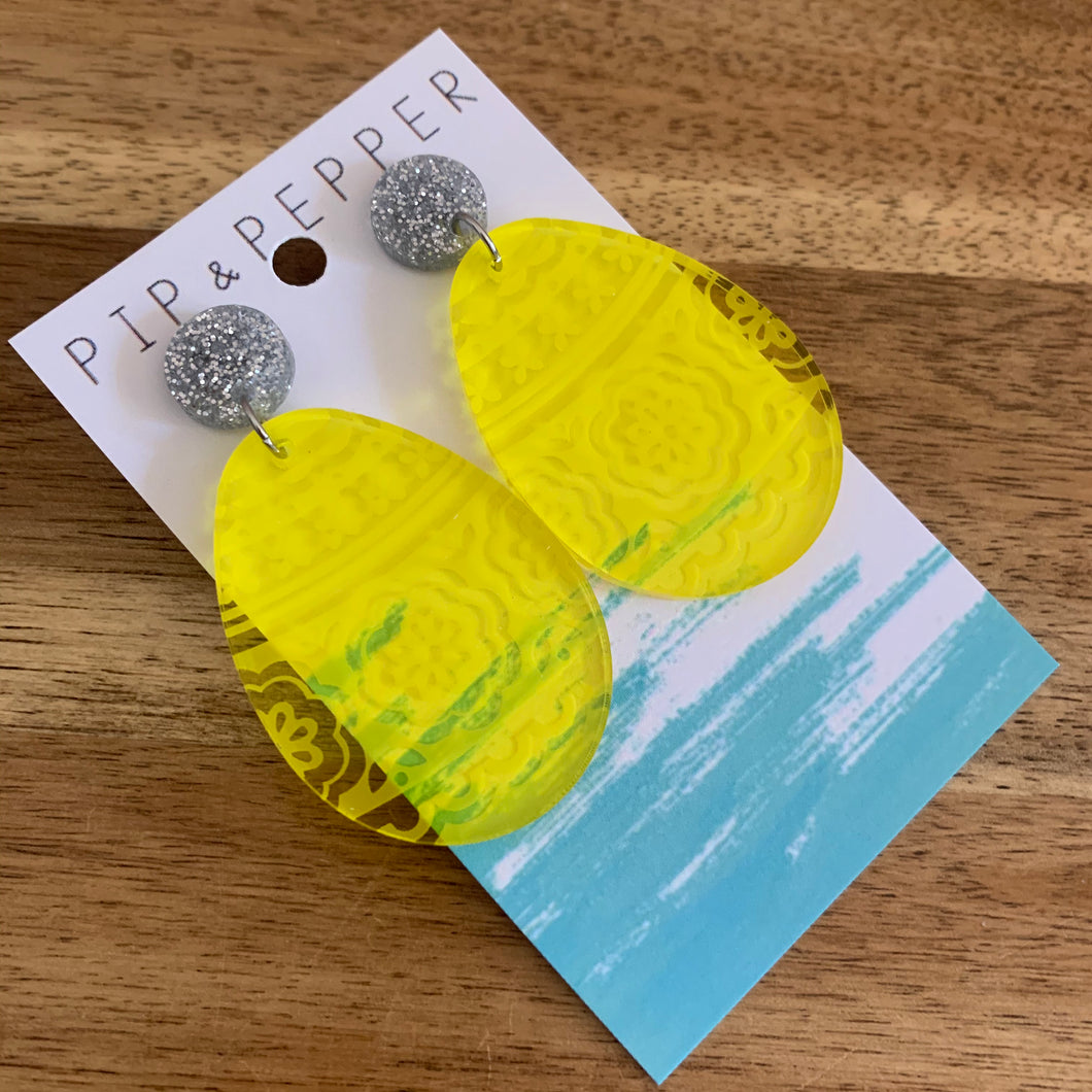 Easter Egg Dangles (Yellow)