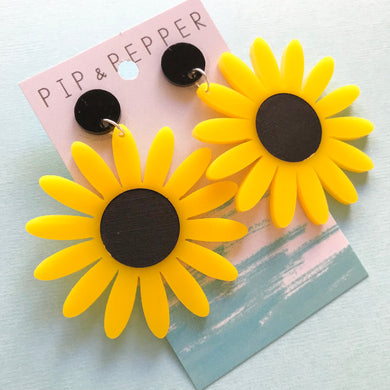 Sunflower dangles