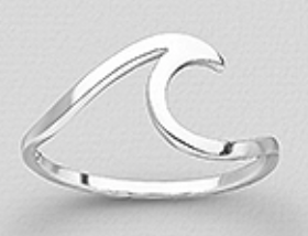 Bombay Silver Wave Ring