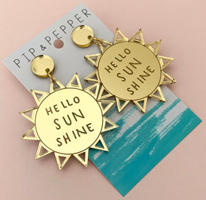 Hello Sunshine Dangles