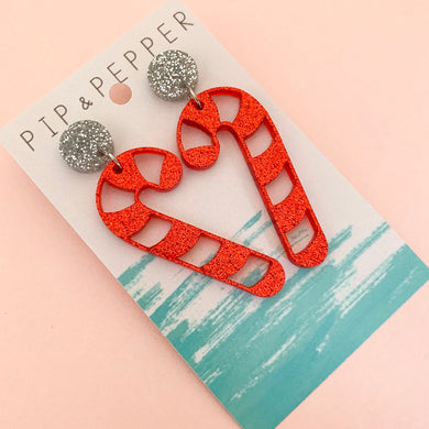 Candy Cane Dangles