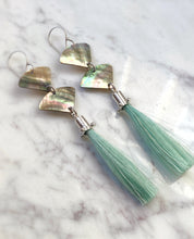Black Mother of Pearl and horse hair Tassels
