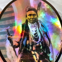 Holographic Chief Joseph Art Sticker