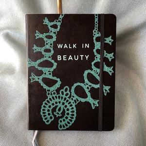 Squash Blossom Walk in Beauty Journal - Dotted