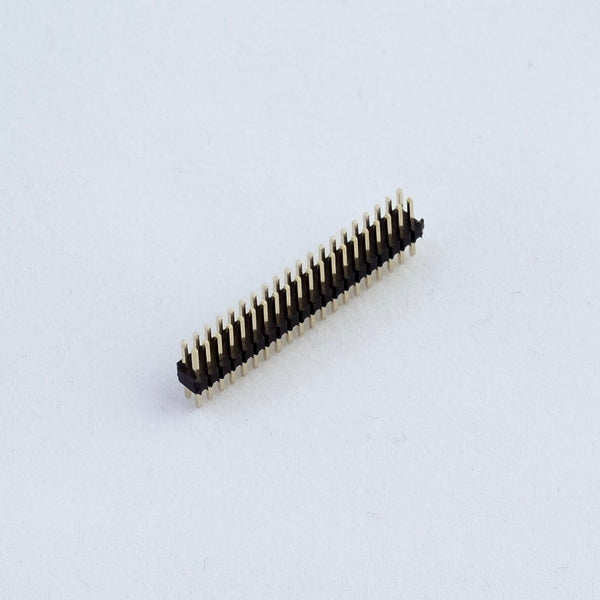 Pin Header 1.27mm 2x20 male straight