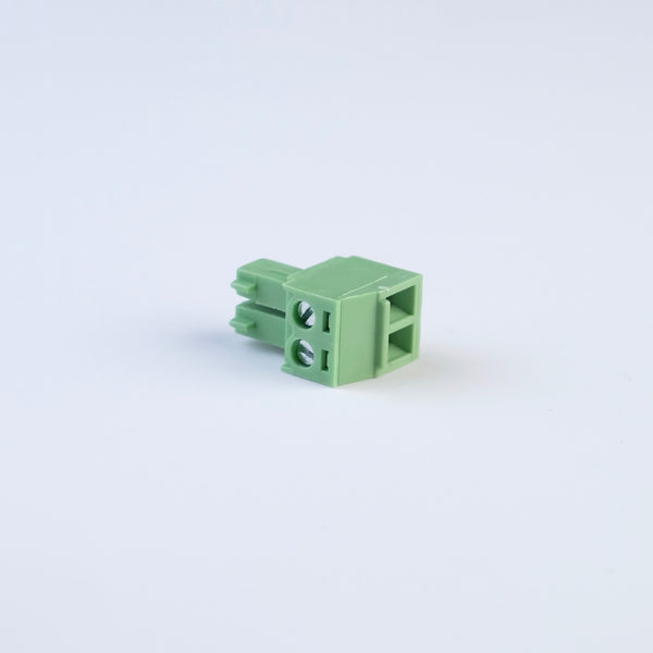 Green-2pin-01f wire screw female 3.81mm