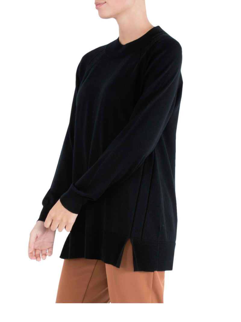 Black Wool Knit