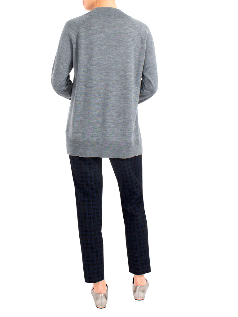 Grey Marle Wool Knit - TAKE 30% OFF