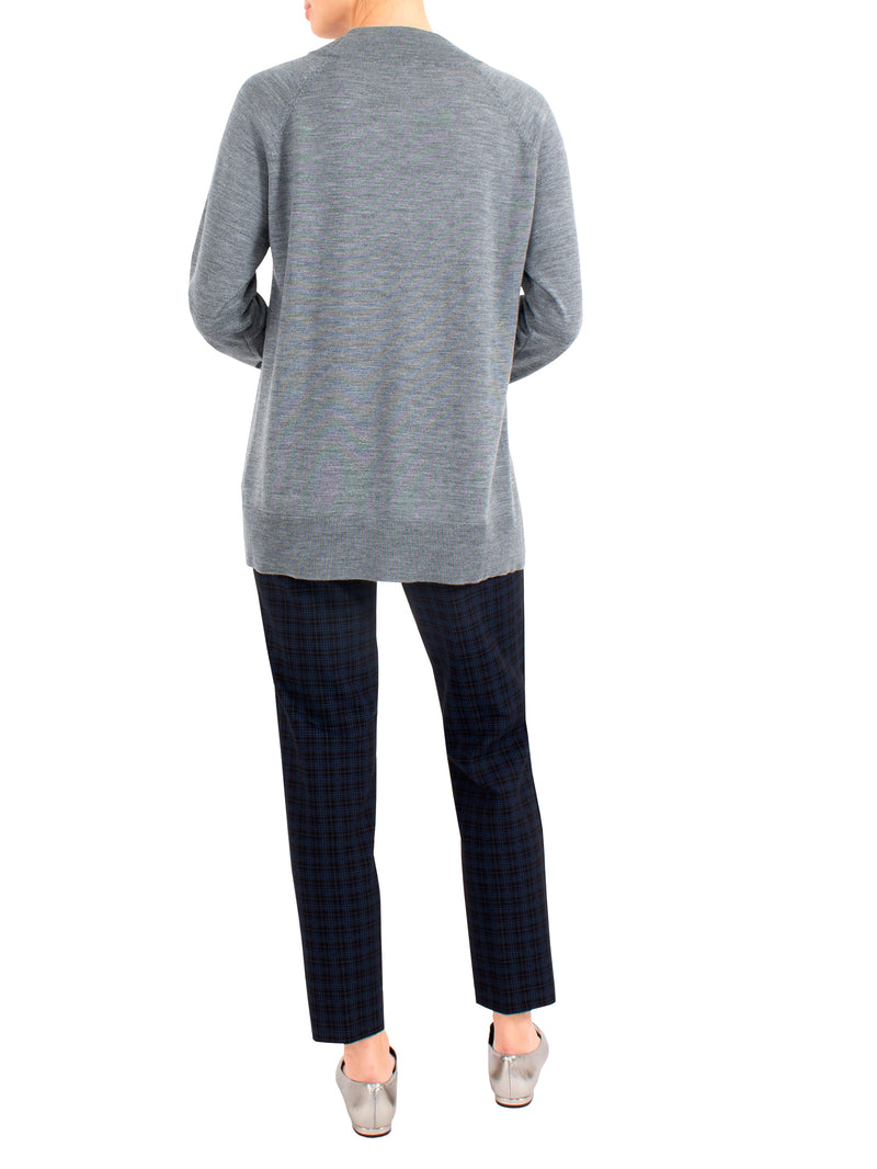 Grey Marle Wool Knit