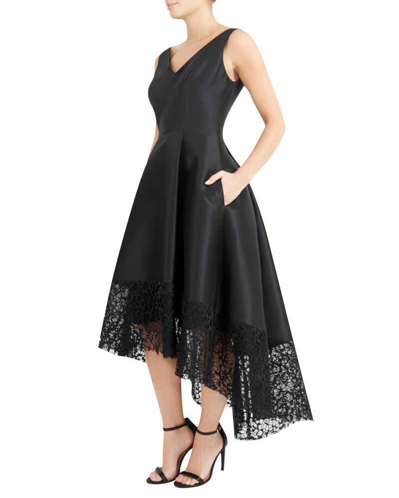 Black Hi-Lo Dress