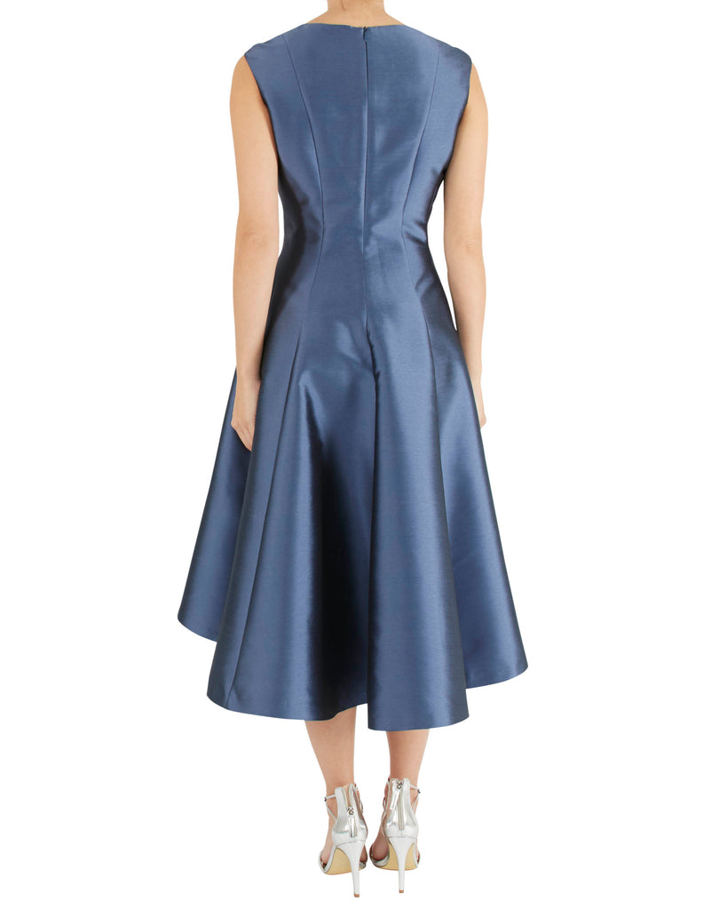 Slate Blue Twill Dress