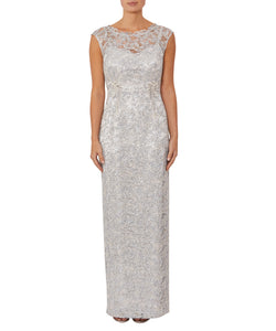 Venice Sequin Lace Gown