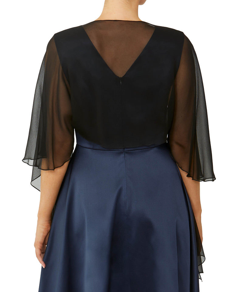 Black Silk Shrug