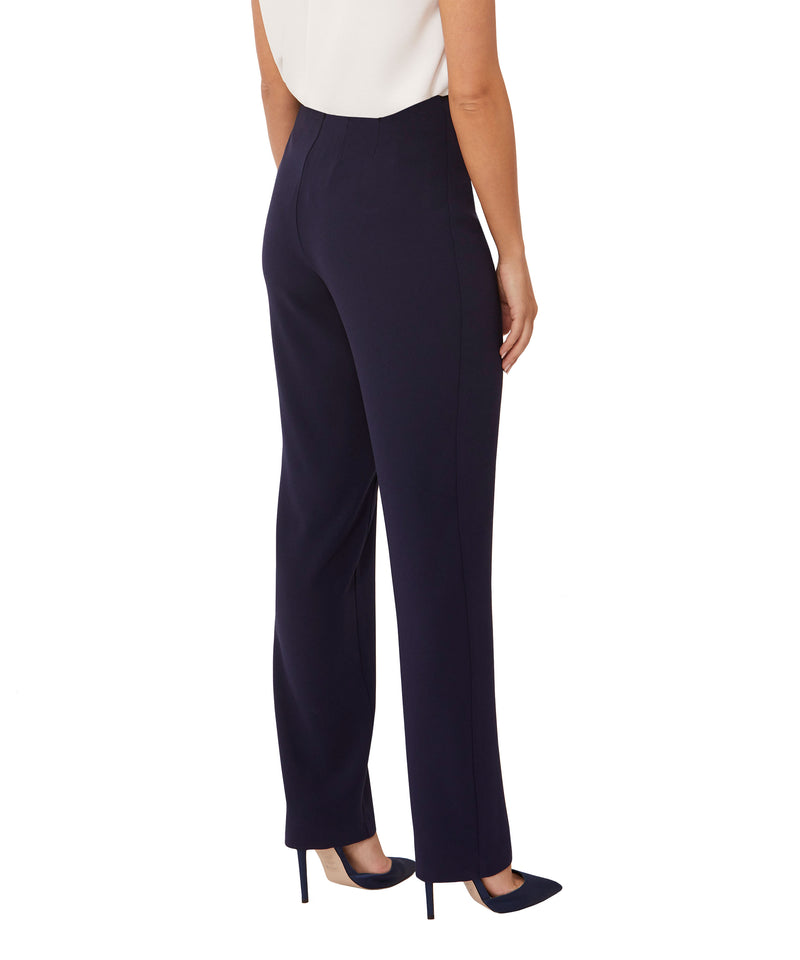 Navy Straight Pant