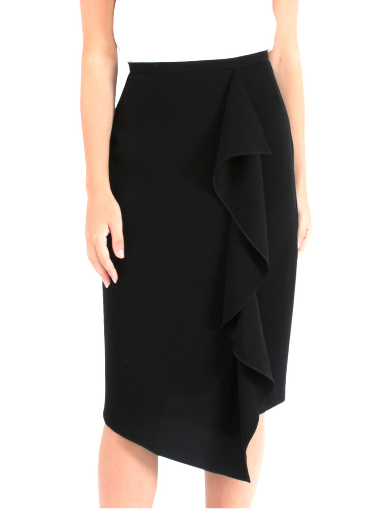 The Black Cascade Skirt