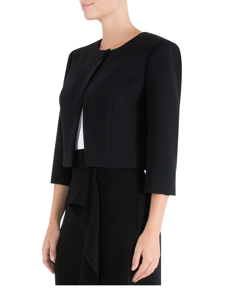 Black Single Button Jacket