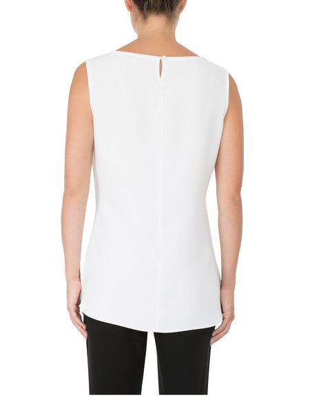 Ivory Crepe Top