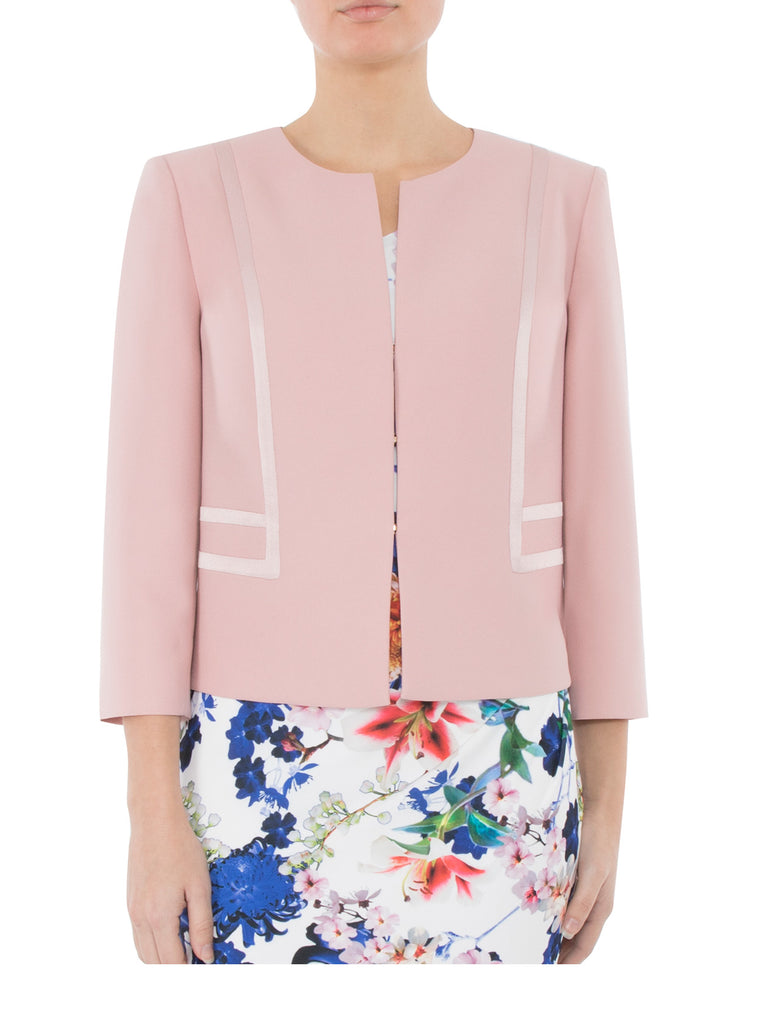 Rose Crepe Jacket
