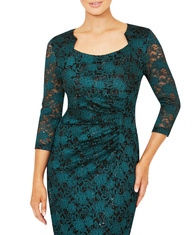 Helena Stretch Lace Dress