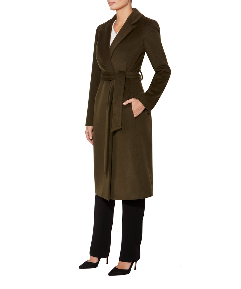 Khaki Wool Coat