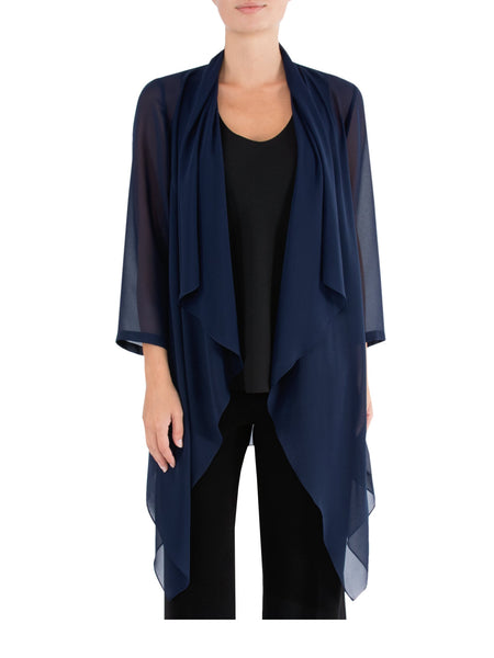 Navy Sheer Jacket