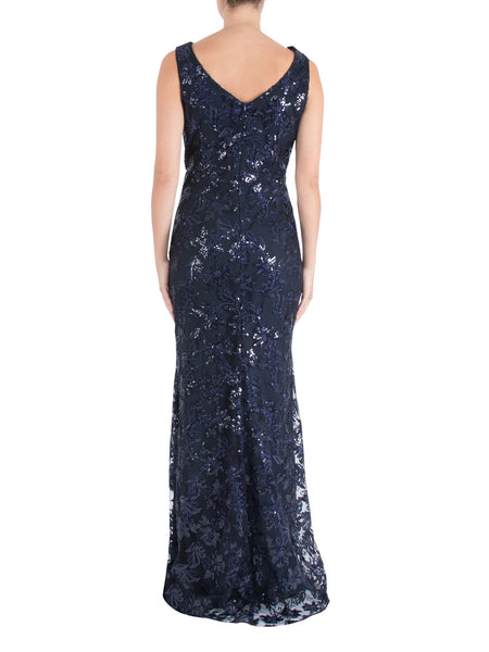 Night Sky Lace Gown