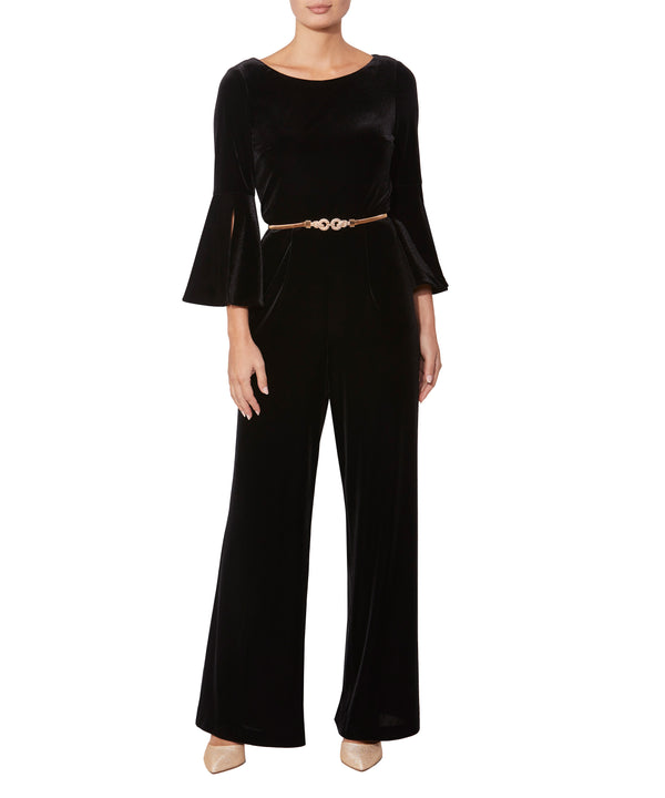 Astrea Velour Jumpsuit
