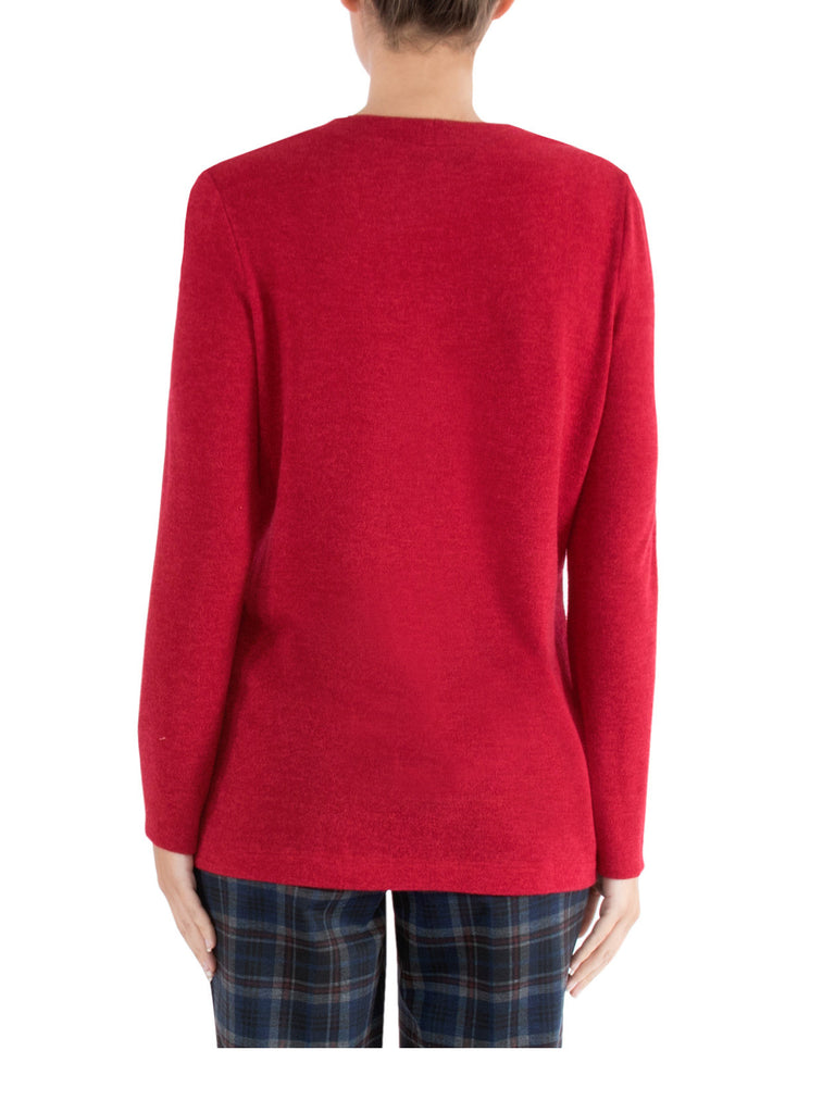 Rouge Crew Neck Sweater - TAKE 30% OFF