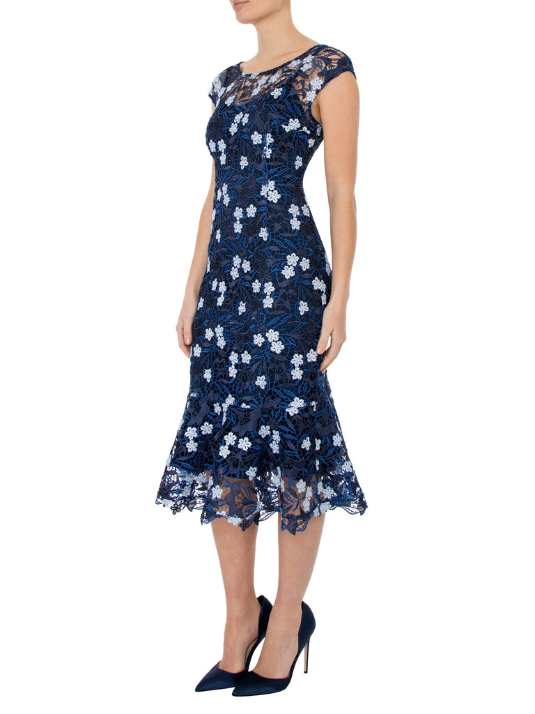 Delphinium Midi Dress