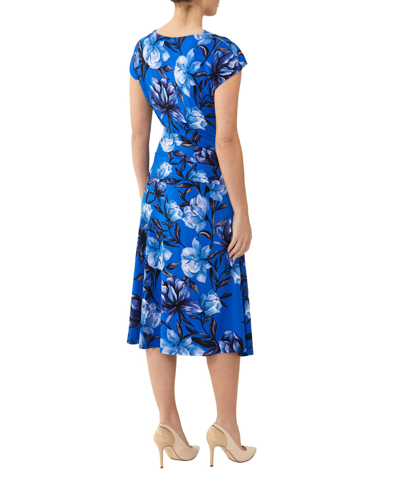Peggy Flared Jersey Dress