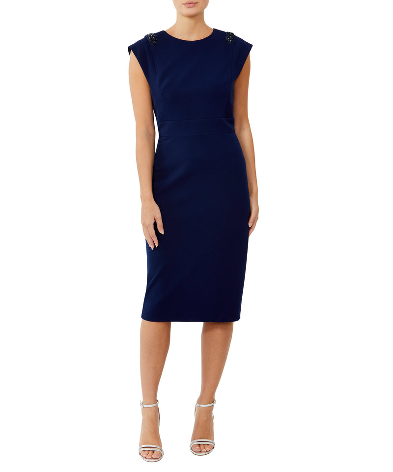 Sonata Embellished Shoulder Dress