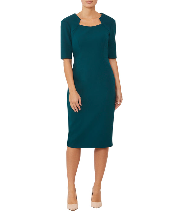 Athena Crepe Dress
