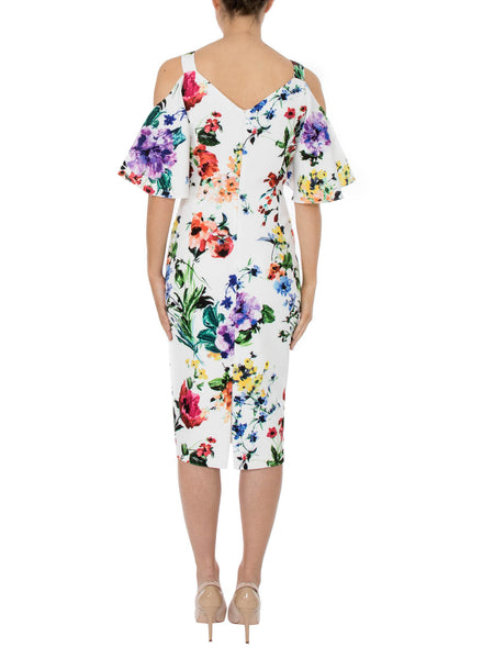 Botanica Cold Shoulder Dress