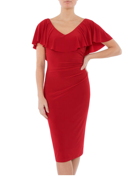 Rouge Jersey Dress