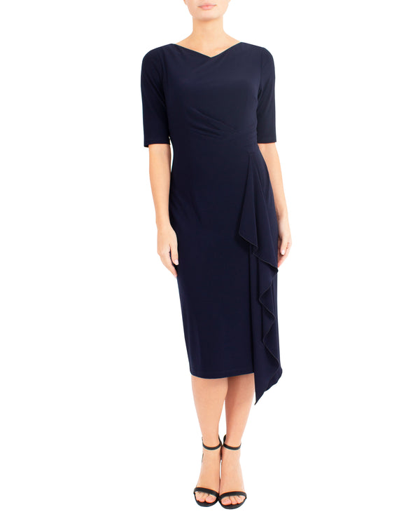 Midnight Jersey Dress