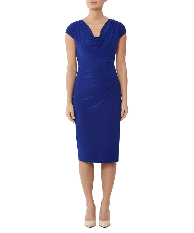 Royal Jersey Dress