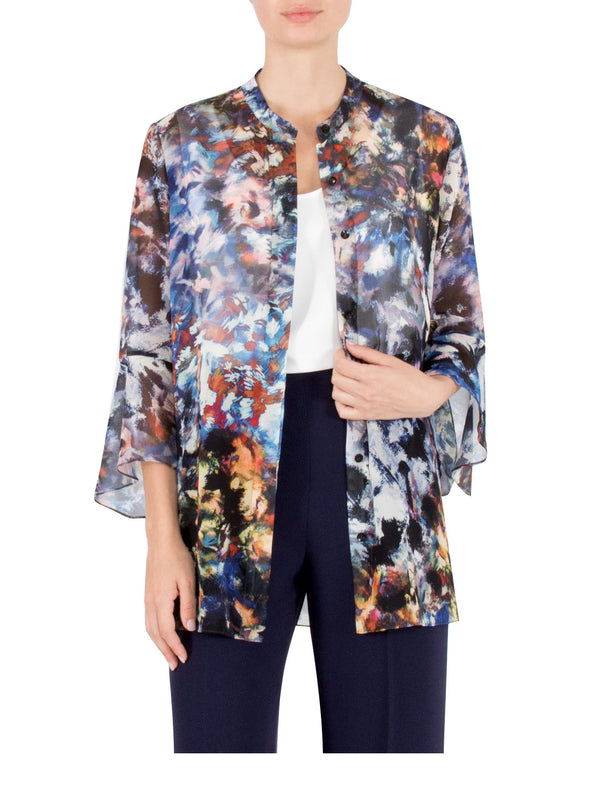 Wildlife Chiffon Shirt