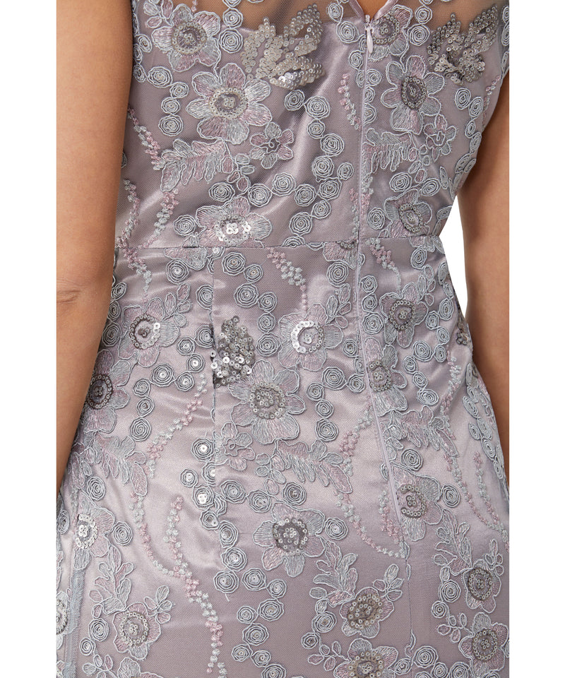 Haze Embroidered Shift Dress