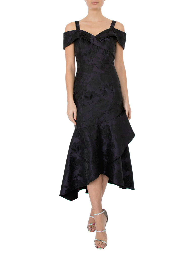 Imperial Jacquard Dress
