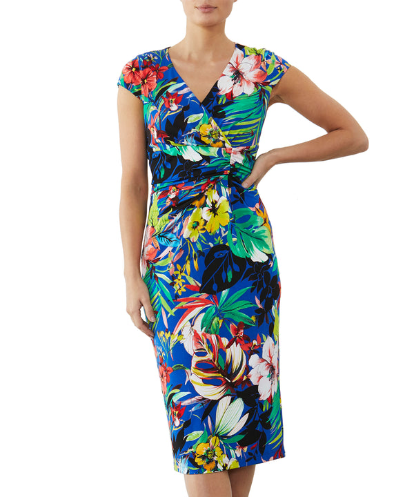 Tropical Jersey Dress