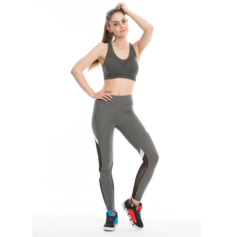 Patchwork Sport Leggings - woman fashion style