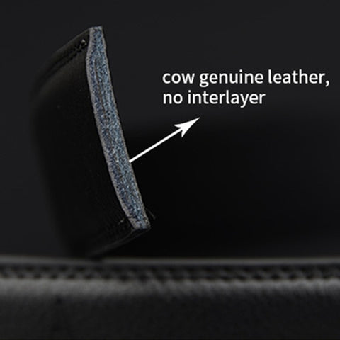 High Quality Ratchet Buckle Genuine Leather Belts for Men