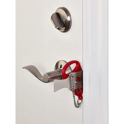 Portable Hotel Door Lock for Self-Defense