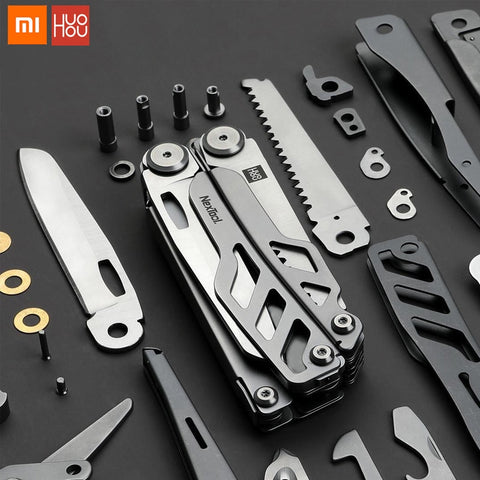 Multi-function Folding Knife Bottle Opener Screwdriver Pliers