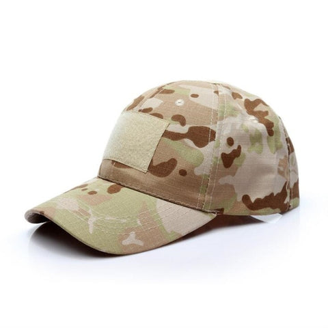 Outdoor Sport Snap Back Camouflage Hat