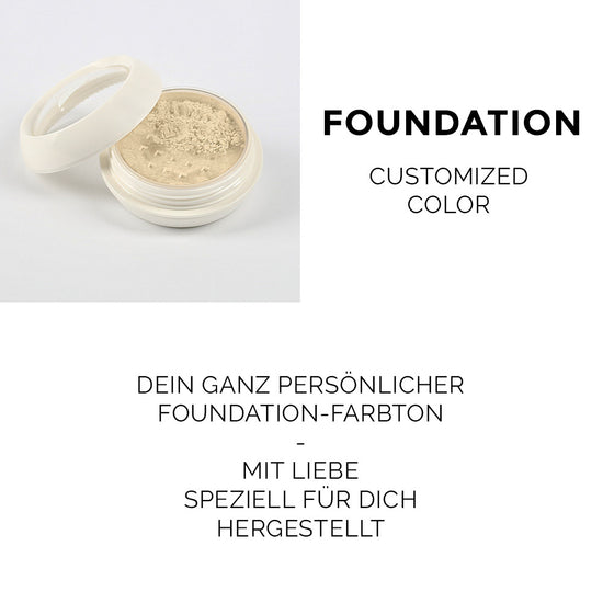 Customized Color / Foundation