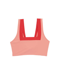 MARINA TOP PINK/RED
