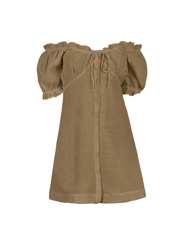 VALENTINA DRESS TAUPE